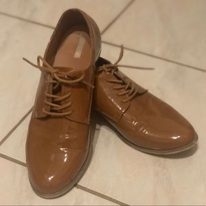 Cooperative pleather oxfords